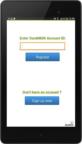 SureMDM Nix Registration